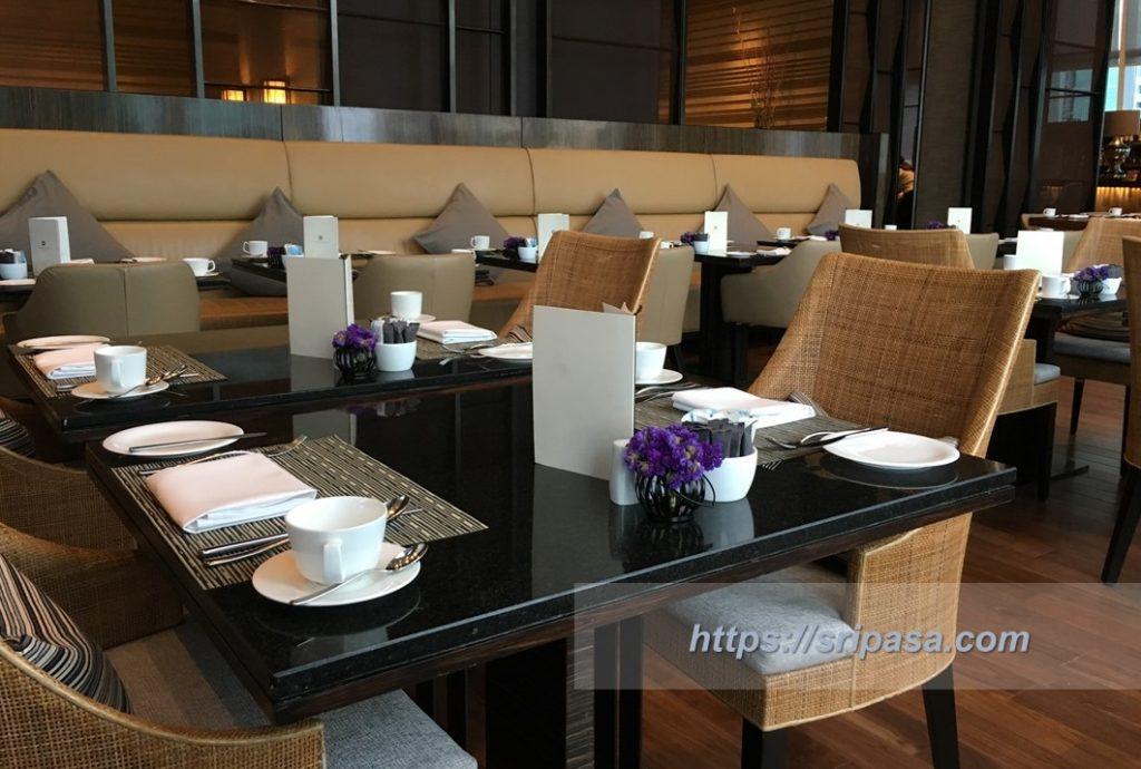 『The Okura Prestige Bangkok(オークラ・プレステージ・バンコク)』 朝食(洋食)の会場