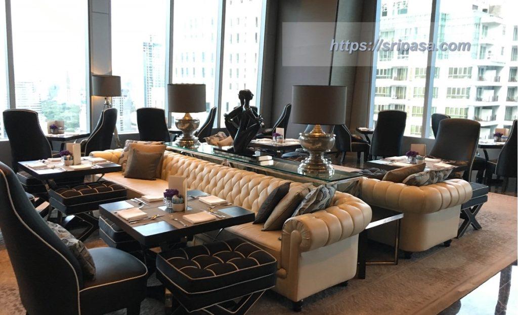 『The Okura Prestige Bangkok(オークラ・プレステージ・バンコク)』 ロビーラウンジ
