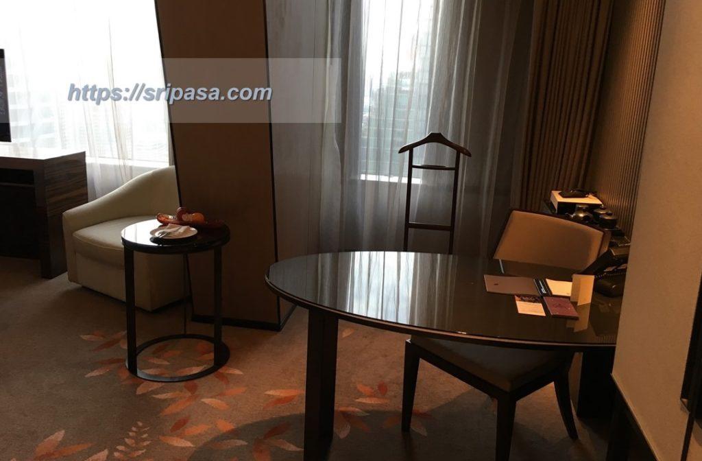『The Okura Prestige Bangkok(オークラ・プレステージ・バンコク)』の室内