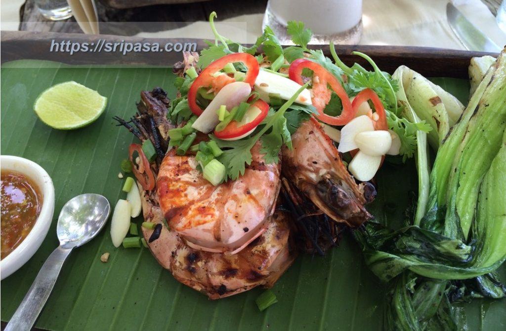 【タイ語単語】調理時に使える動詞一覧【タイ料理】(クン・パオ)エビの炭火焼