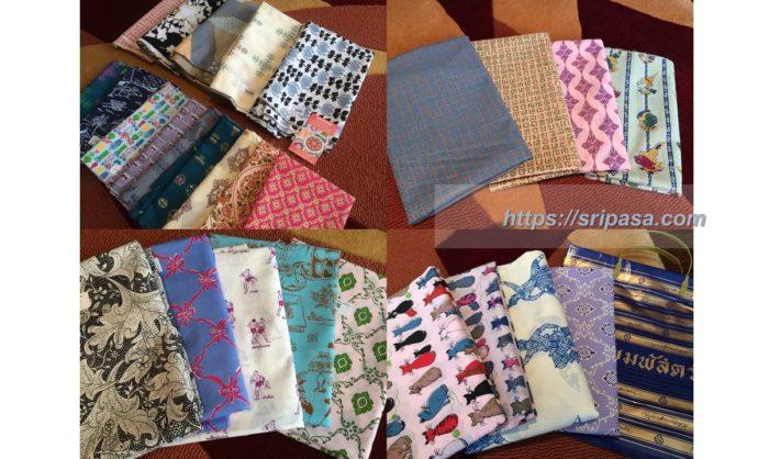 タイコットン「コマパット/Khomapastr」で購入した布