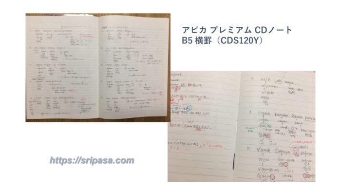 アピカ プレミアムCDノート「C.D.NOTEBOOK」B5横罫