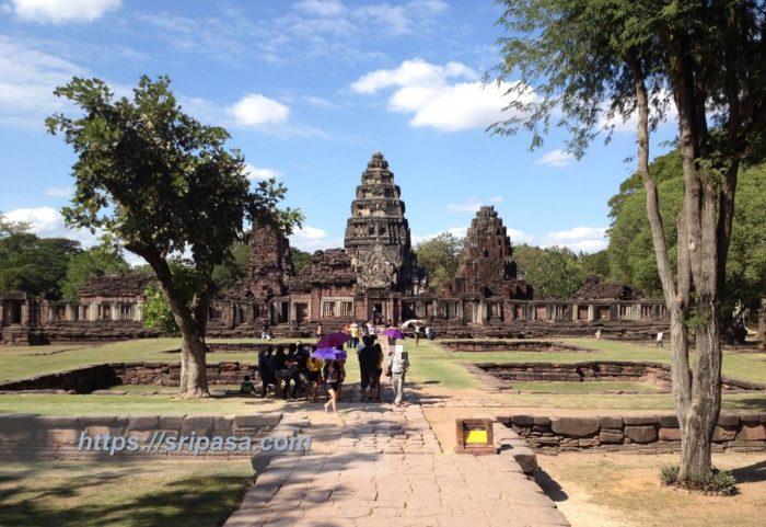 タイ東北部(イサーン)のピマーイ遺跡(ナコンラーチャシーマー県)