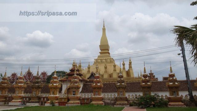 ビエンチャン/ヴィエンチャン(ラオス)にある仏塔「タート・ルアン」