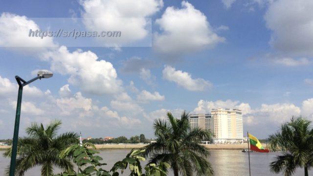 カンボジア・プノンペンの街並み
