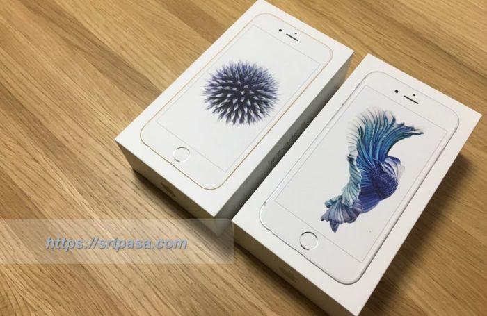 iPhone6/6sの外箱:紫の丸い花「ヒゴタイ」とベタ・スプレンデンスの絵柄