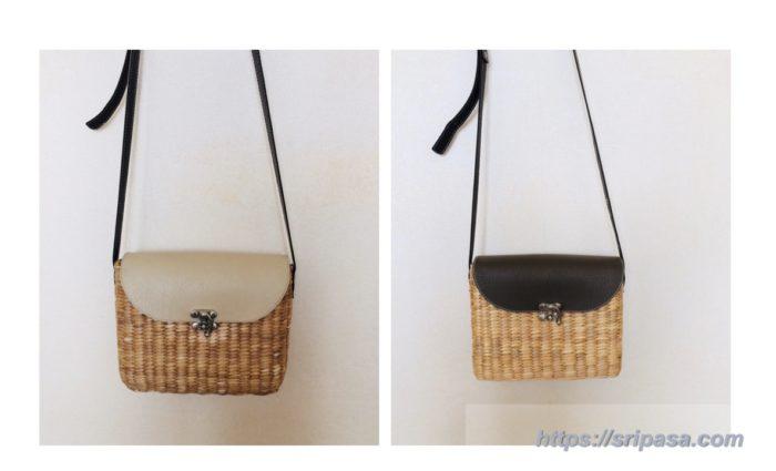 バンコクで買える、タイ旅行のおすすめ『ファッション雑貨』のお土産|カゴバッグ(ポーチ)