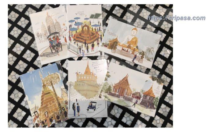 caliiicoのポストカード(タイ・バンコク)