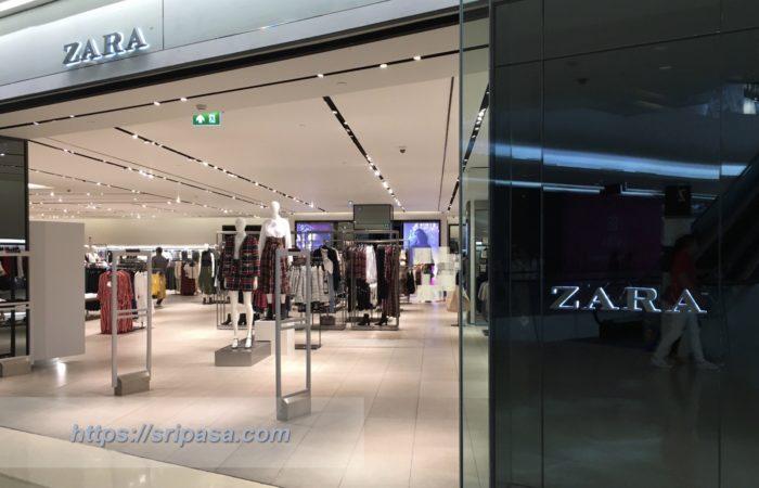 バンコク・セントラルエンバシー/Central Embassyにある「ZARA」の店舗