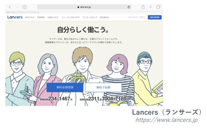 クラウドソーシング「Lancers/ランサーズ」