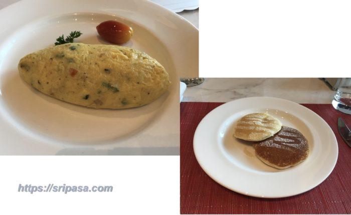 セントレジスバンコク VIUでの朝食