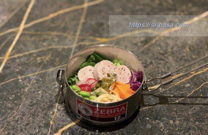 ZEBRA Thailand ゼブラ・タイランド弁当箱を使ったお弁当
