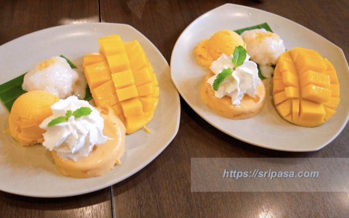 バンコク・サイアム「マンゴータンゴ(Mango Tango)」のカオニャオ・マムアン