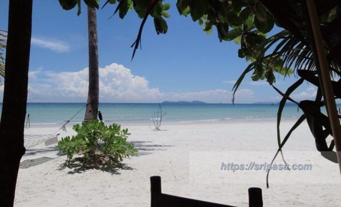 タイ・クッド島のビーチ