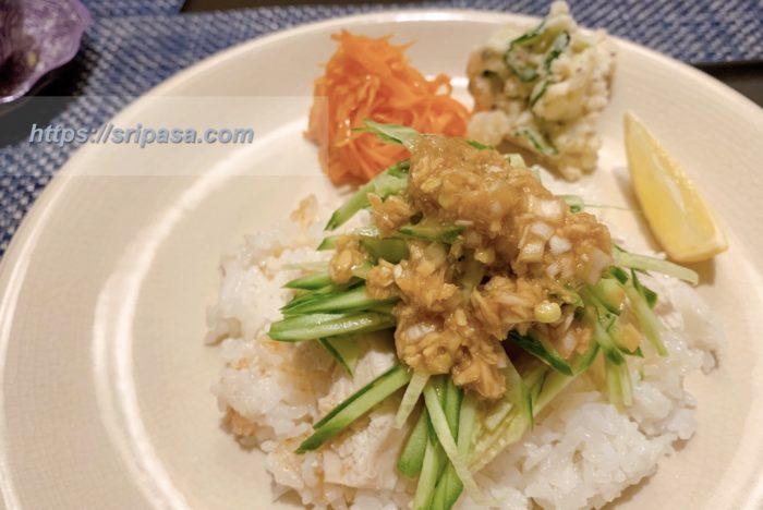 タイ料理 カオマンガイ レシピ