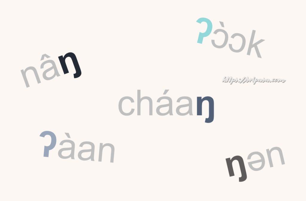 タイ語子音の特殊な発音記号