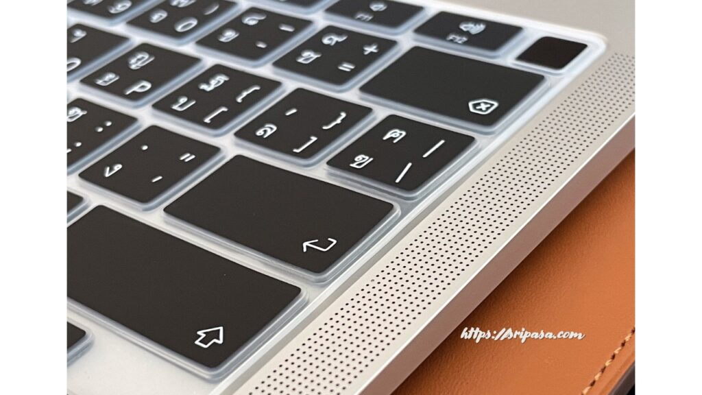 MacBook Air用タイ語シリコンキーボード