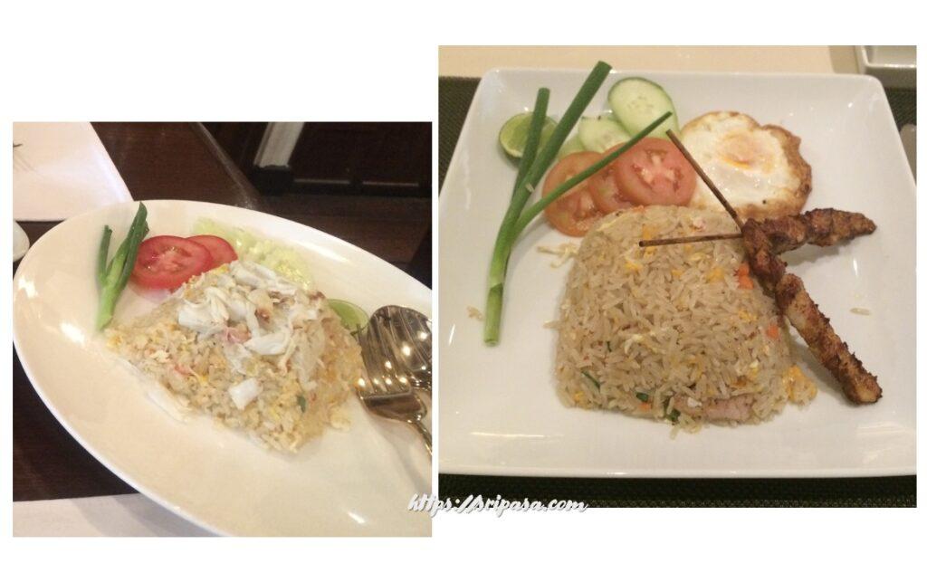 タイのチャーハン(ข้าวผัด/カオパット)